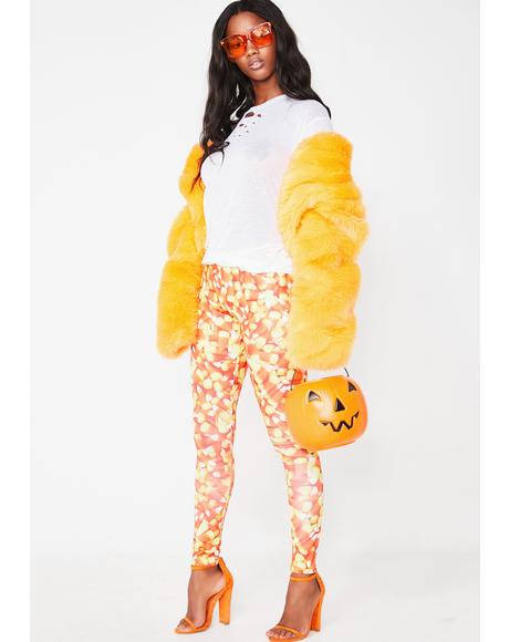 Sweet Like Candy Corn Leggings