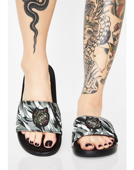Nerm Tiger Camo Slides