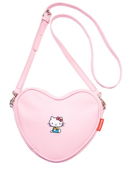 Hello Kitty Soft Heart Bag