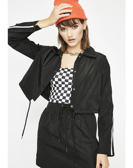 Outta Control Cropped Jacket