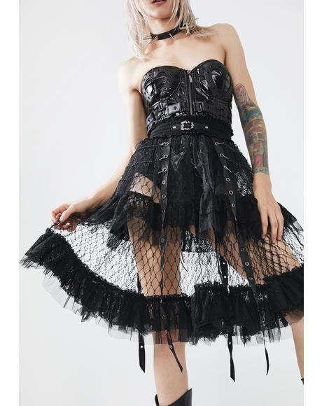 Lolitas Taboo Cage Skirt