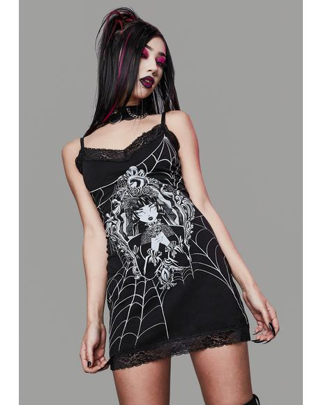 Ghost Of You Graphic Tank Dress