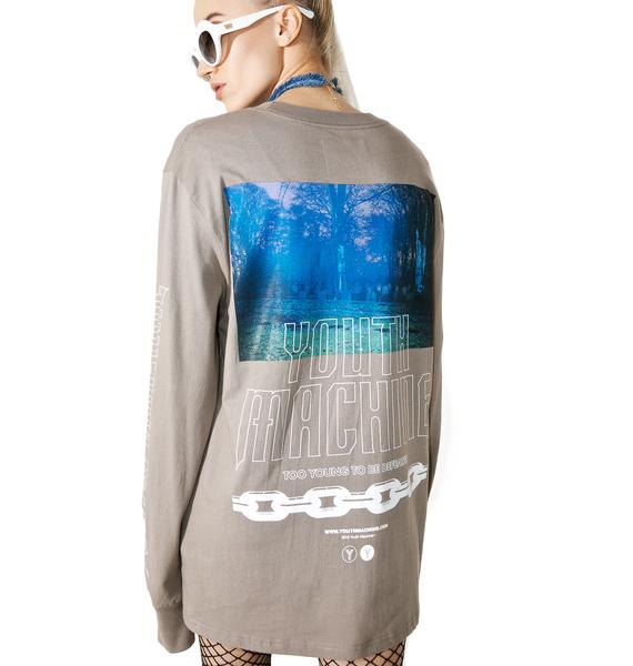 Youth Machine Visions Long Sleeve Tee