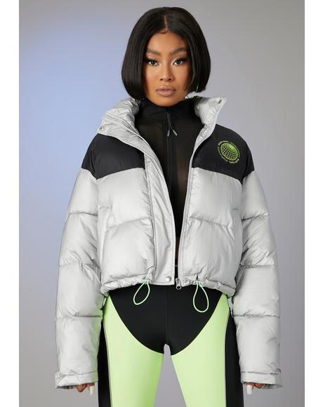 Forever Icy Puffer Jacket