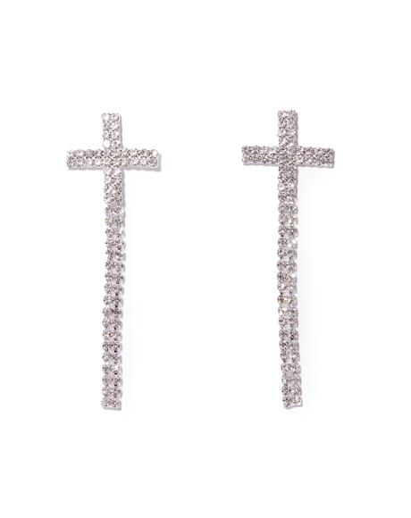 Like A Prayer Rhinestone Earrings