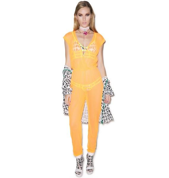 Hot!MeSS Mesh Jumpsuit