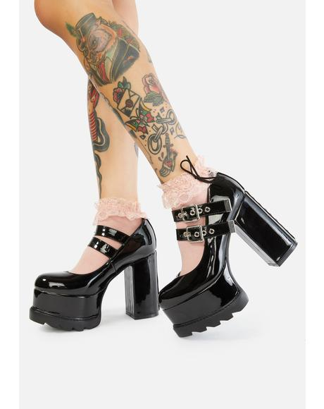 Onyx How Ironic Platform Mary Janes