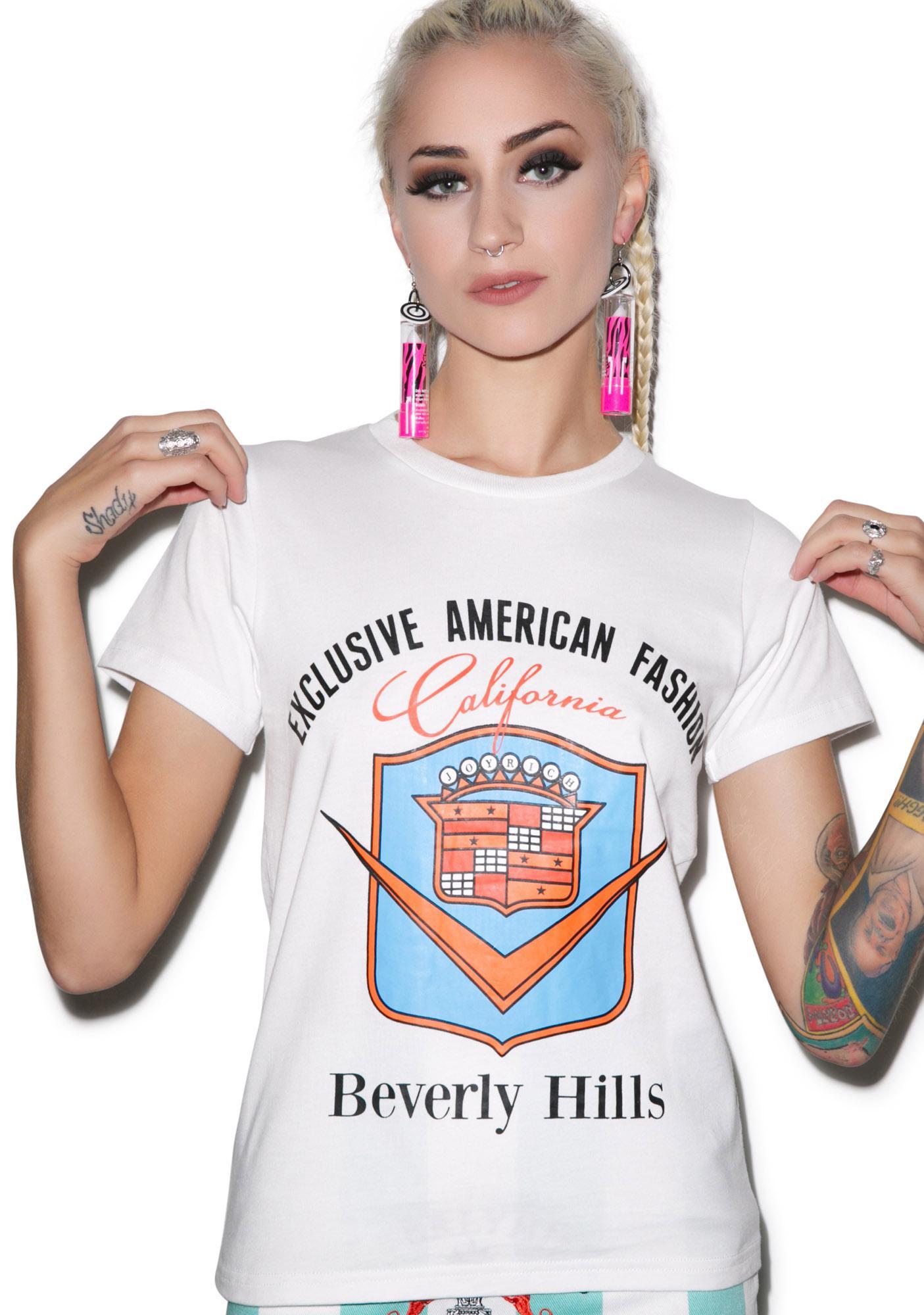 Joyrich Exclusive Beverly Hills Seal Tee