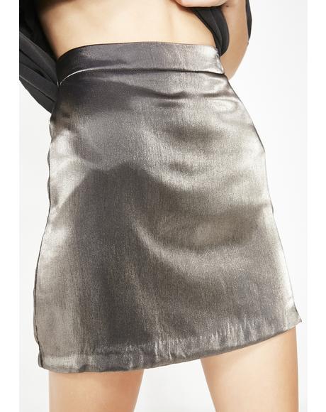 Viva La Velvet Mini Skirt