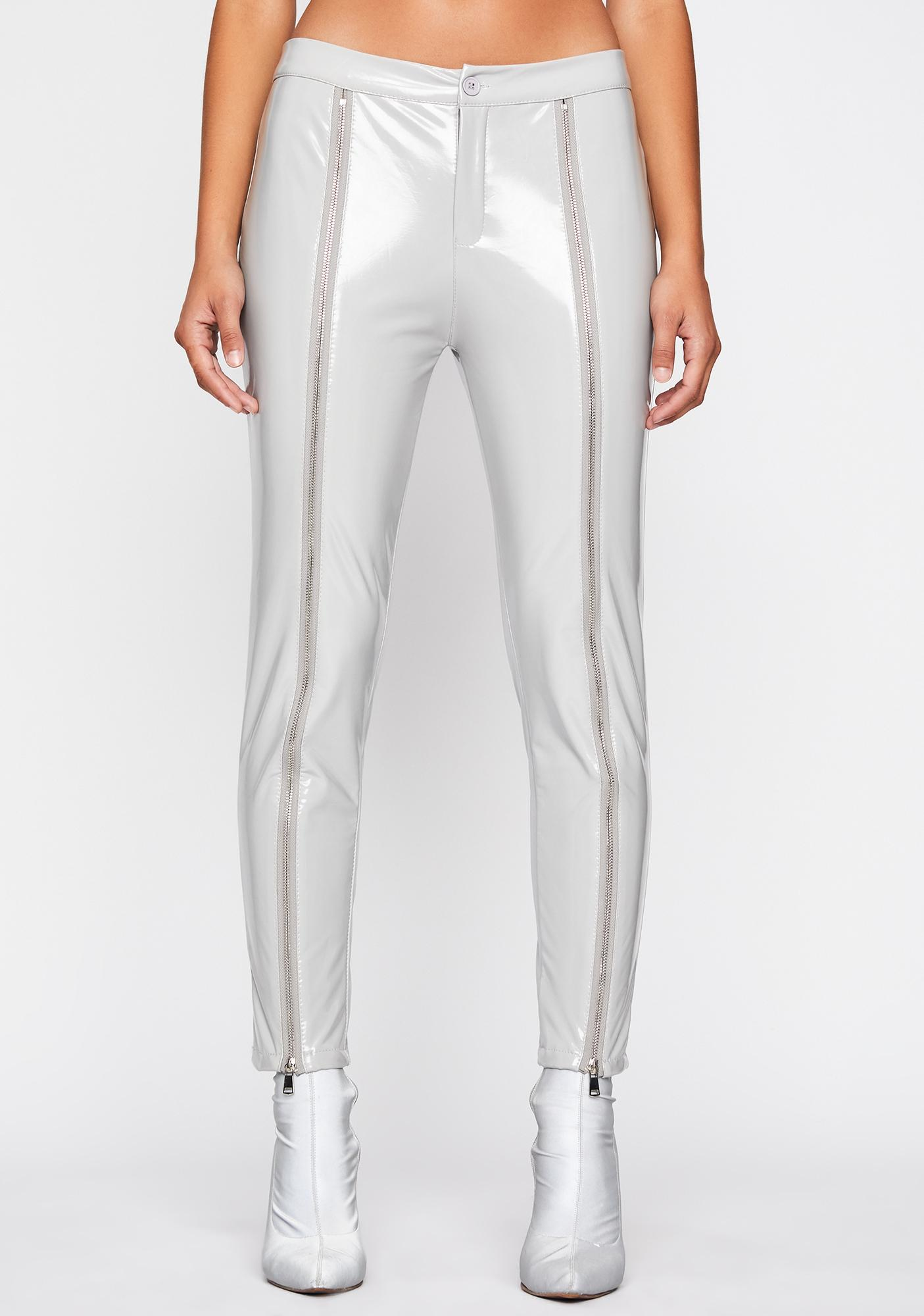 Down To Mars Vegan Leather Pants