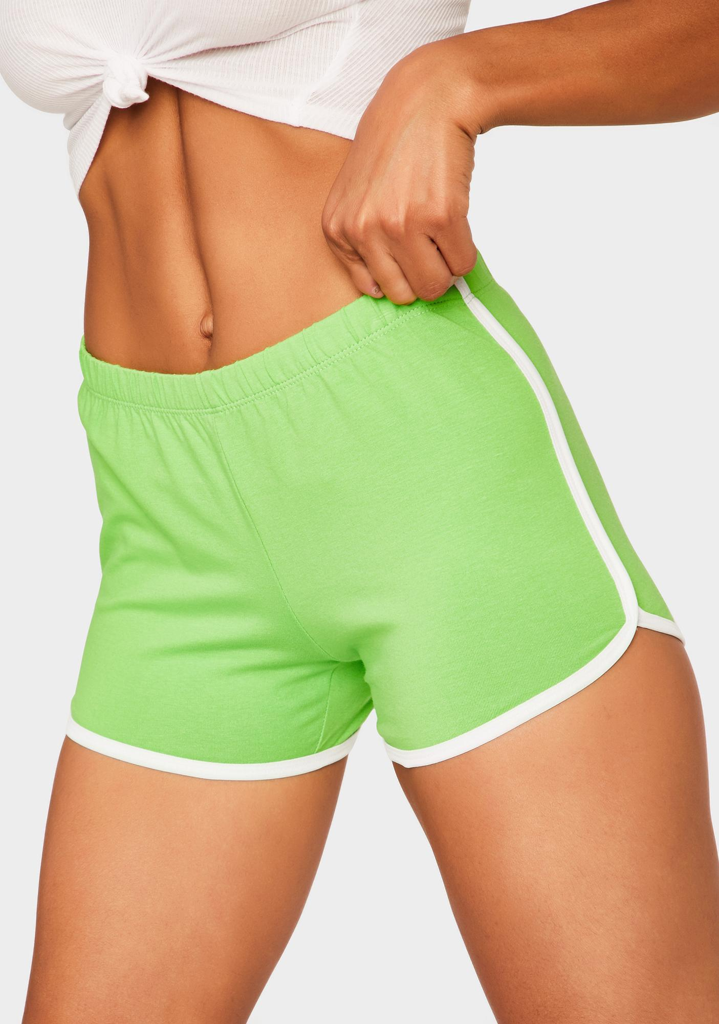 Jealous Game Point Dolphin Shorts