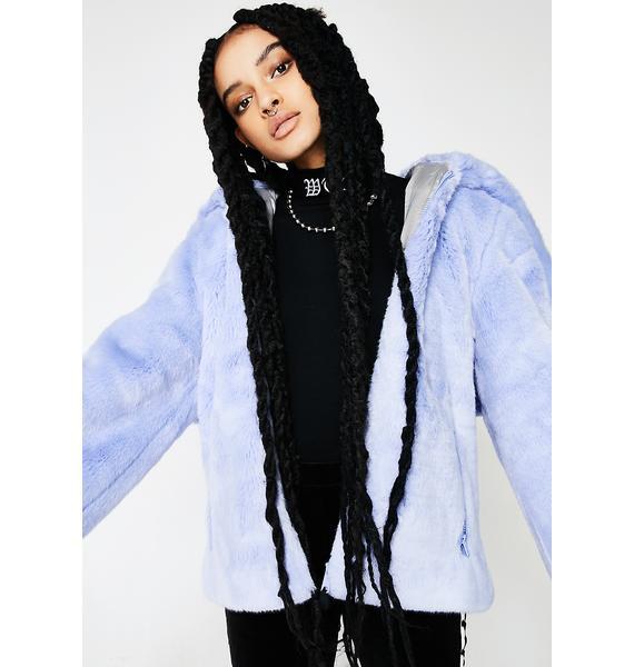 PUMA FENTY PUMA By Rihanna Faux Fur Shawl Collar Jacket