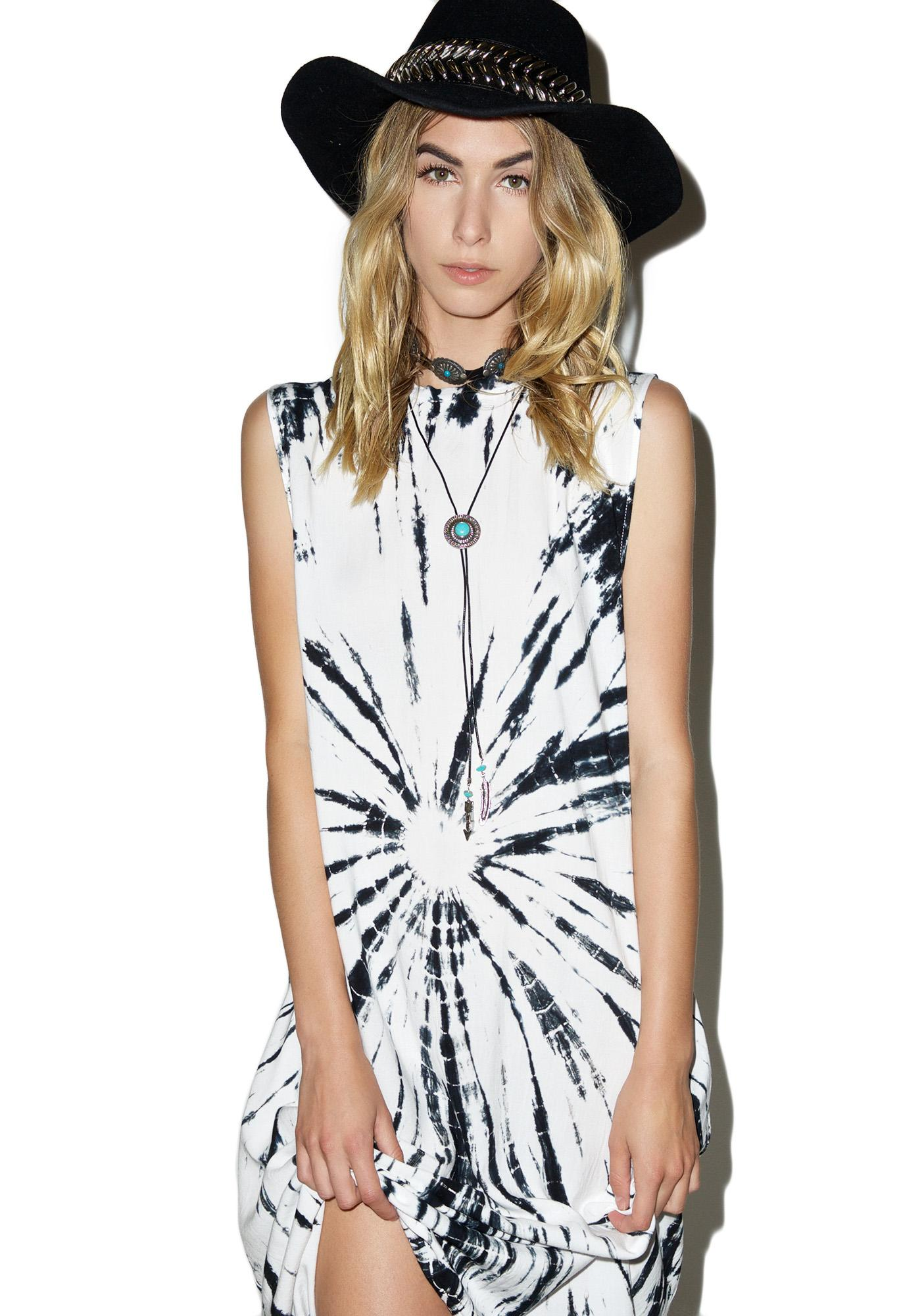 Motel Tie Dyed Lauren Dress