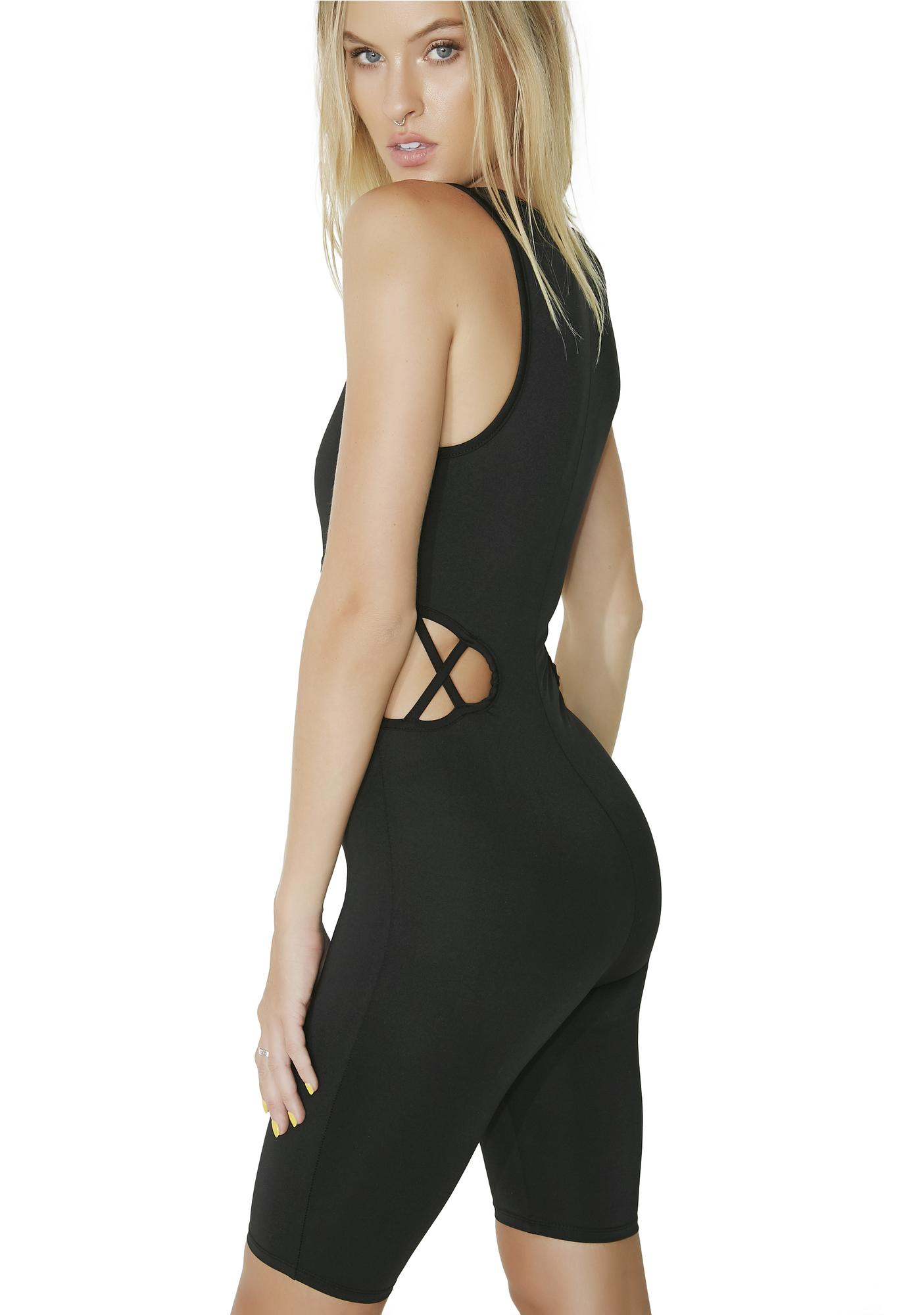 Ready Or Not Cut-Out Bodysuit