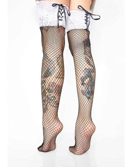 Lady Rapture Fishnet Stockings