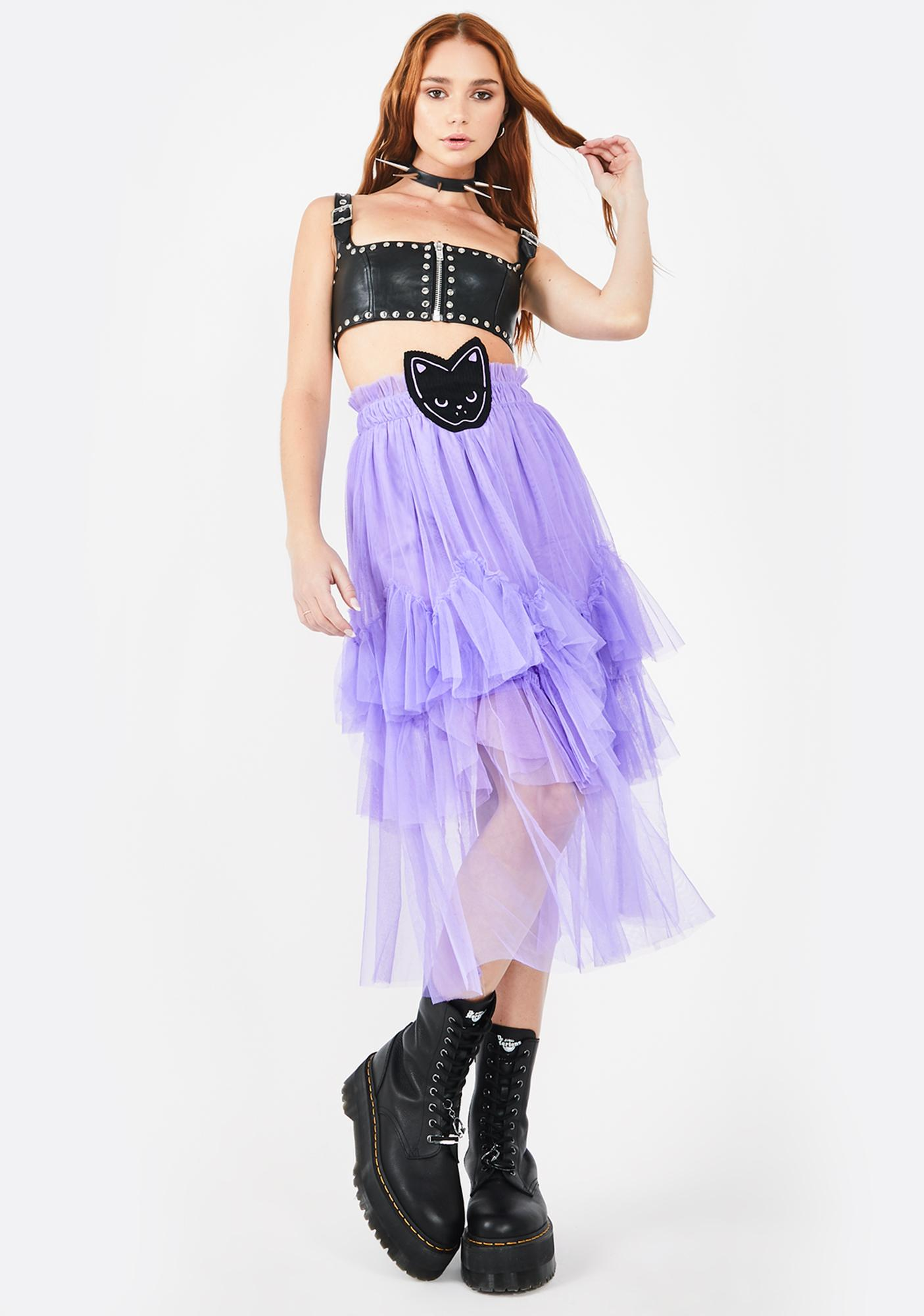 Morph8ne Purrrple Tutu Skirt
