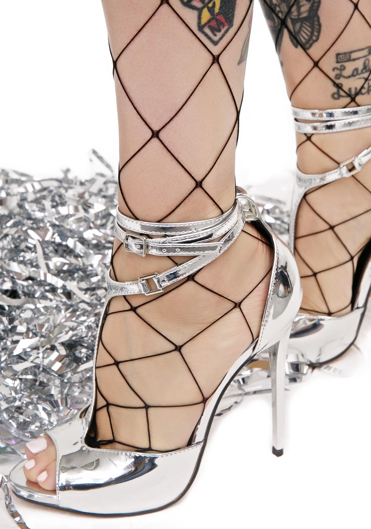 Kroma Metallic Heels