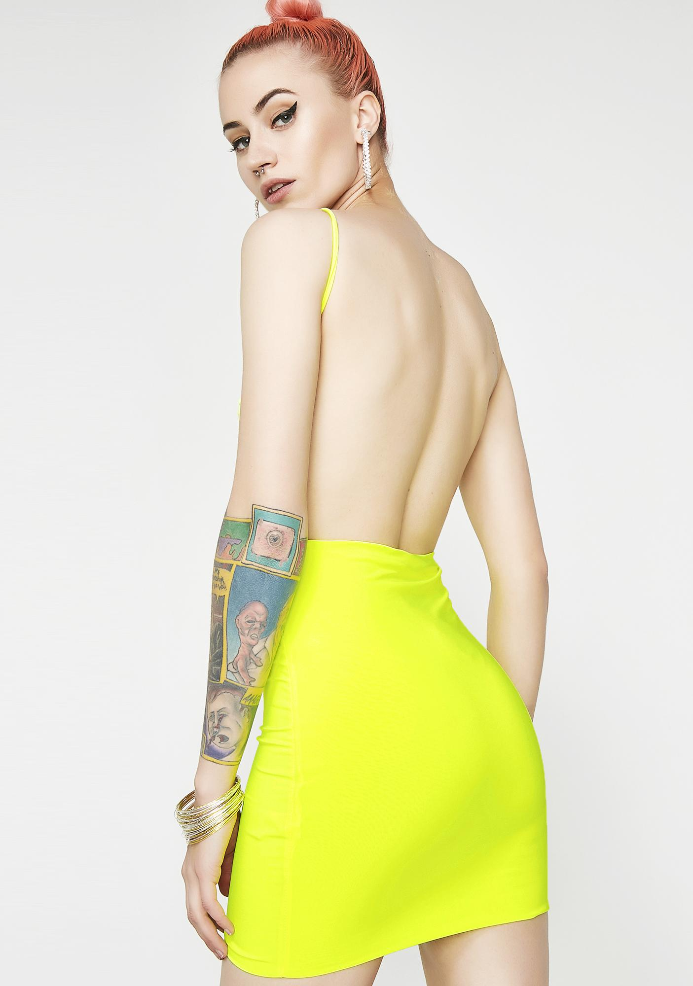 Sunny Adore You Backless Dress