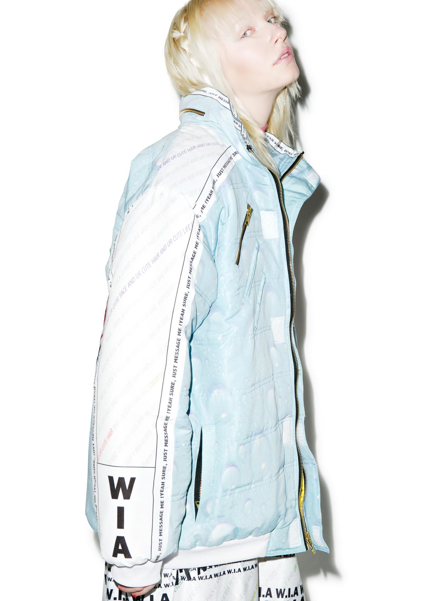 W.I.A USB Padding Bomber Jacket