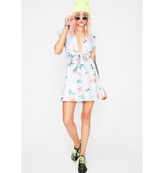 Fool Me Once Floral Dress