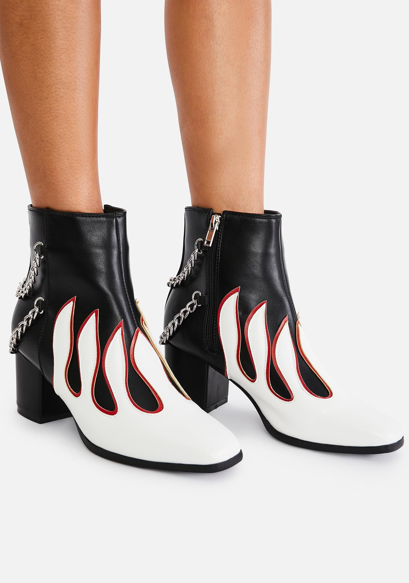 Lamoda Feel The Fire Ankle Boots