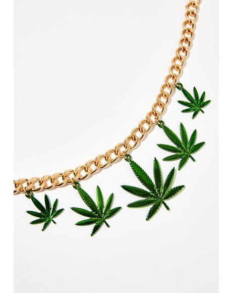 Puff Puff Sass Necklace