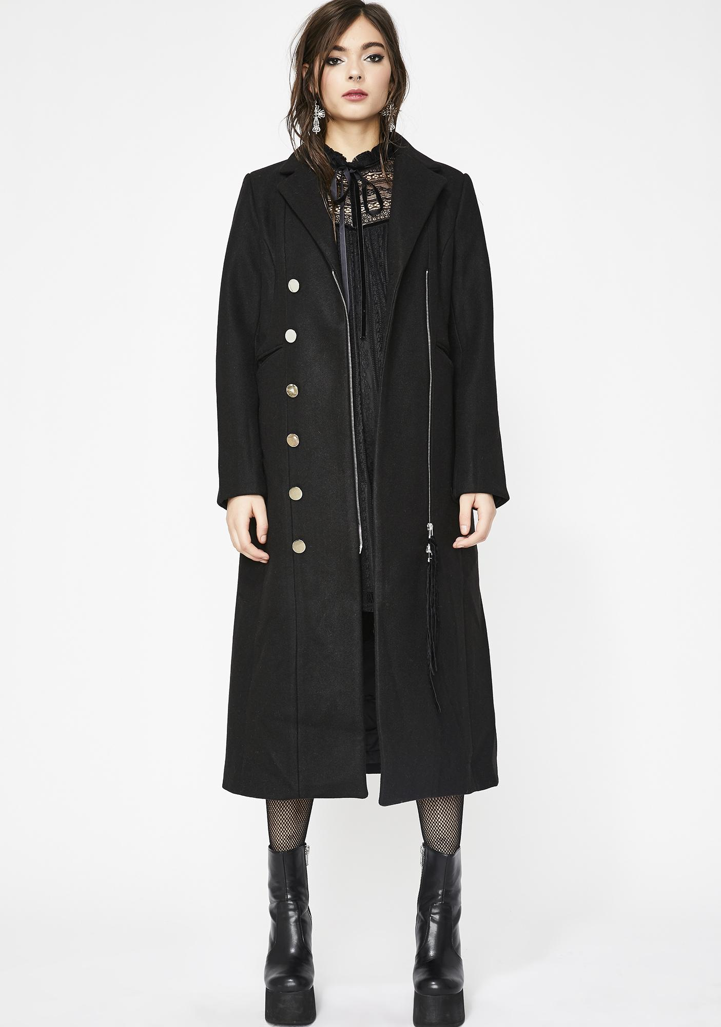 La Divina Asymmetrical Coat