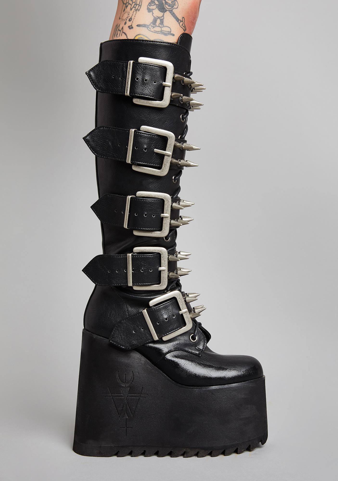 Widow Appetite For Destruction Platform Boots