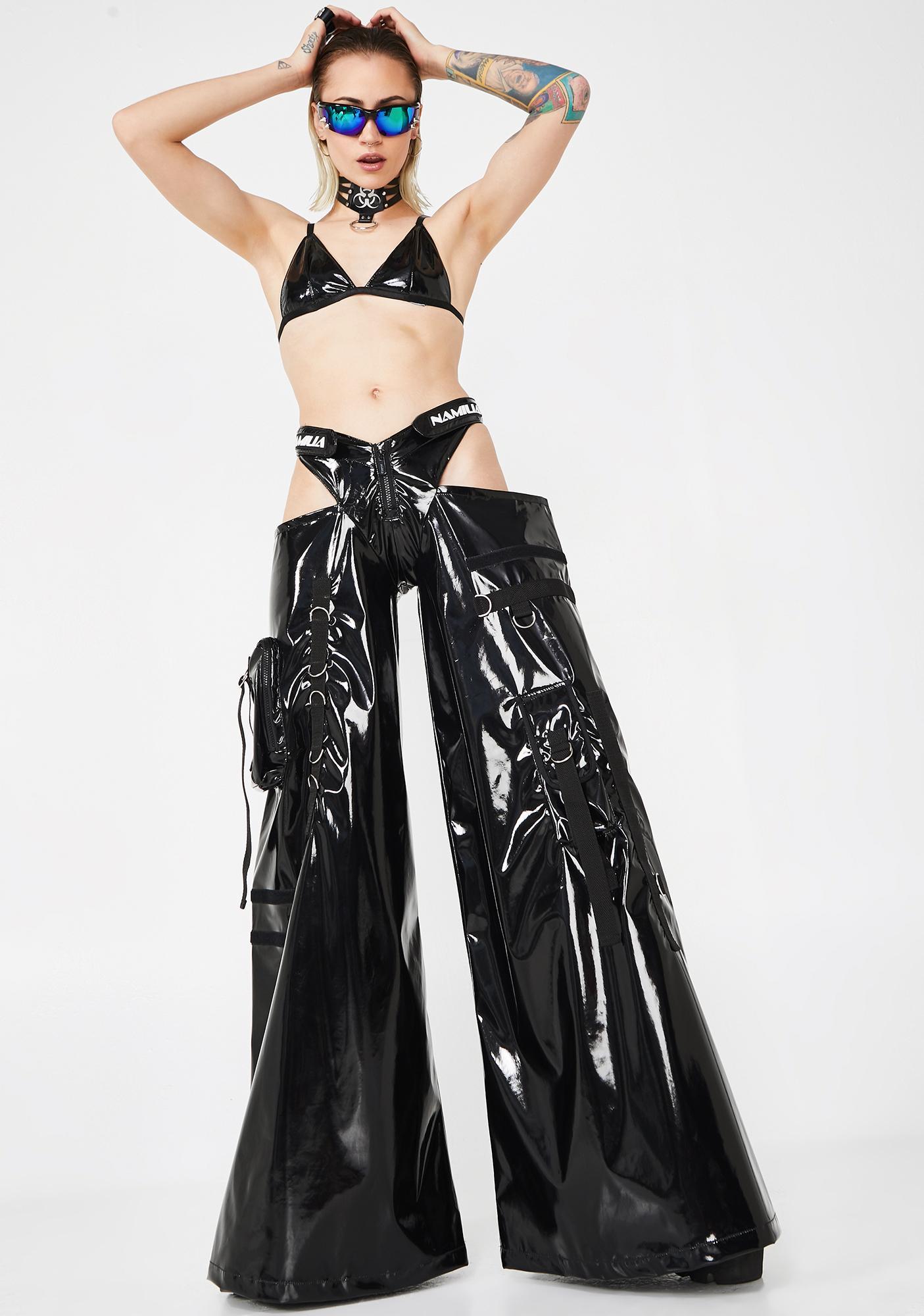 Namilia PVC Rave Panty Trousers