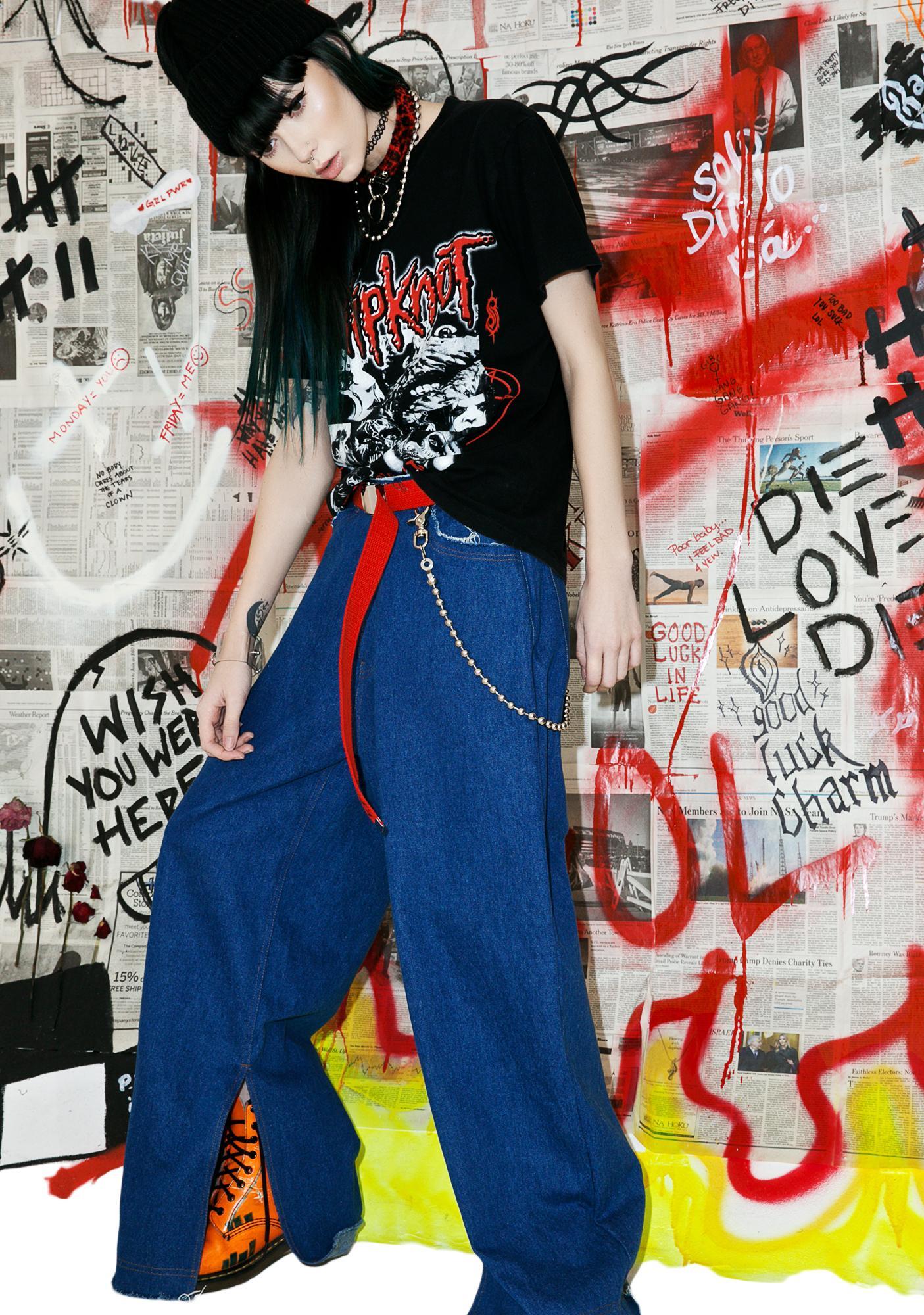 Vintage 90s Slipknot Band Tee