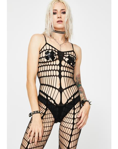 Take Me Now Fishnet Bodystocking