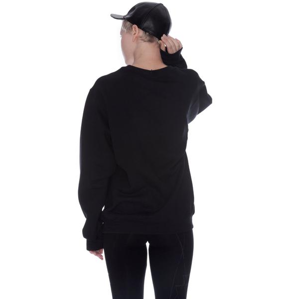 Shop W.A.S. Dark Youth Sweater