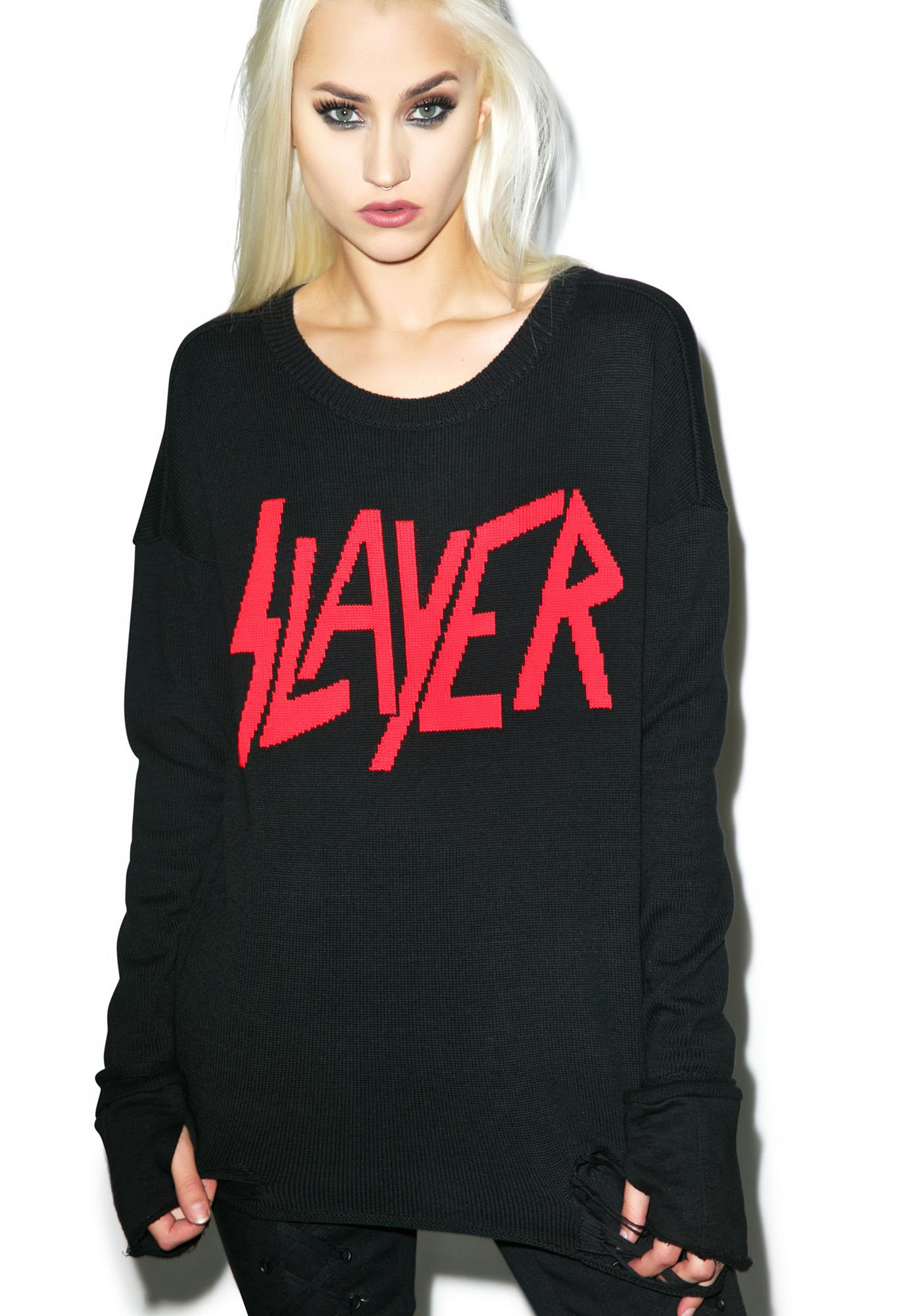 Iron Fist Slayer Torn Sweater