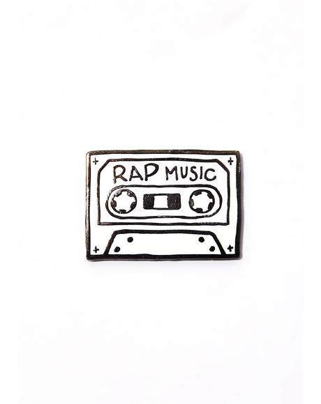 Rap Music Pin