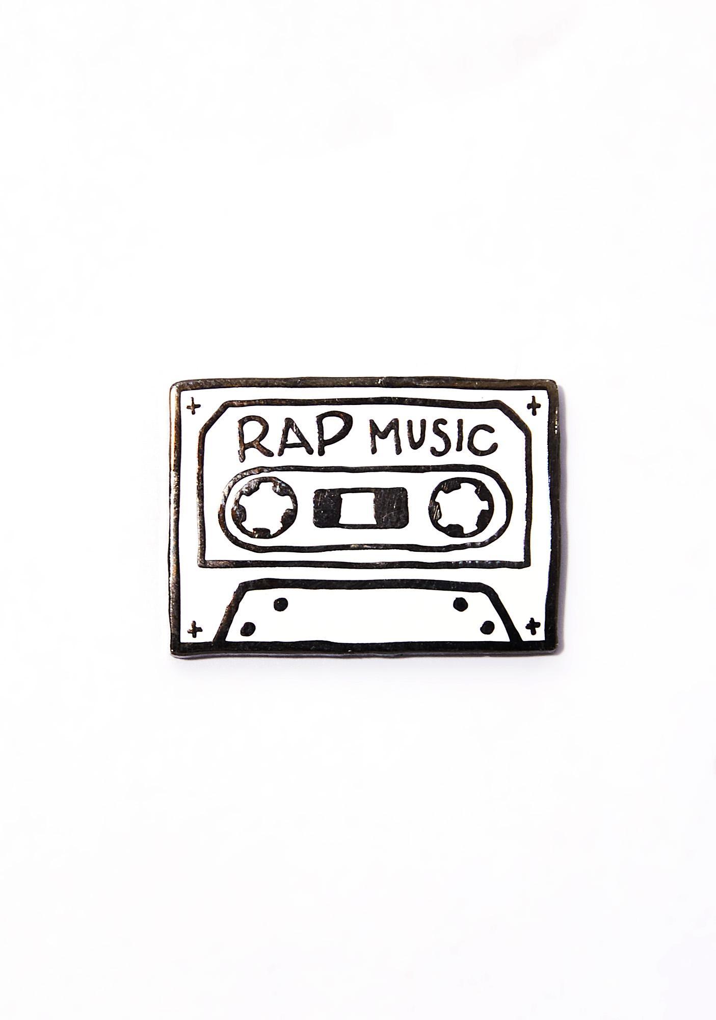 MNKR Rap Music Pin