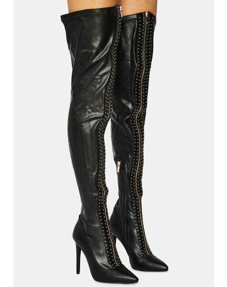 Orbit Thigh High Boots