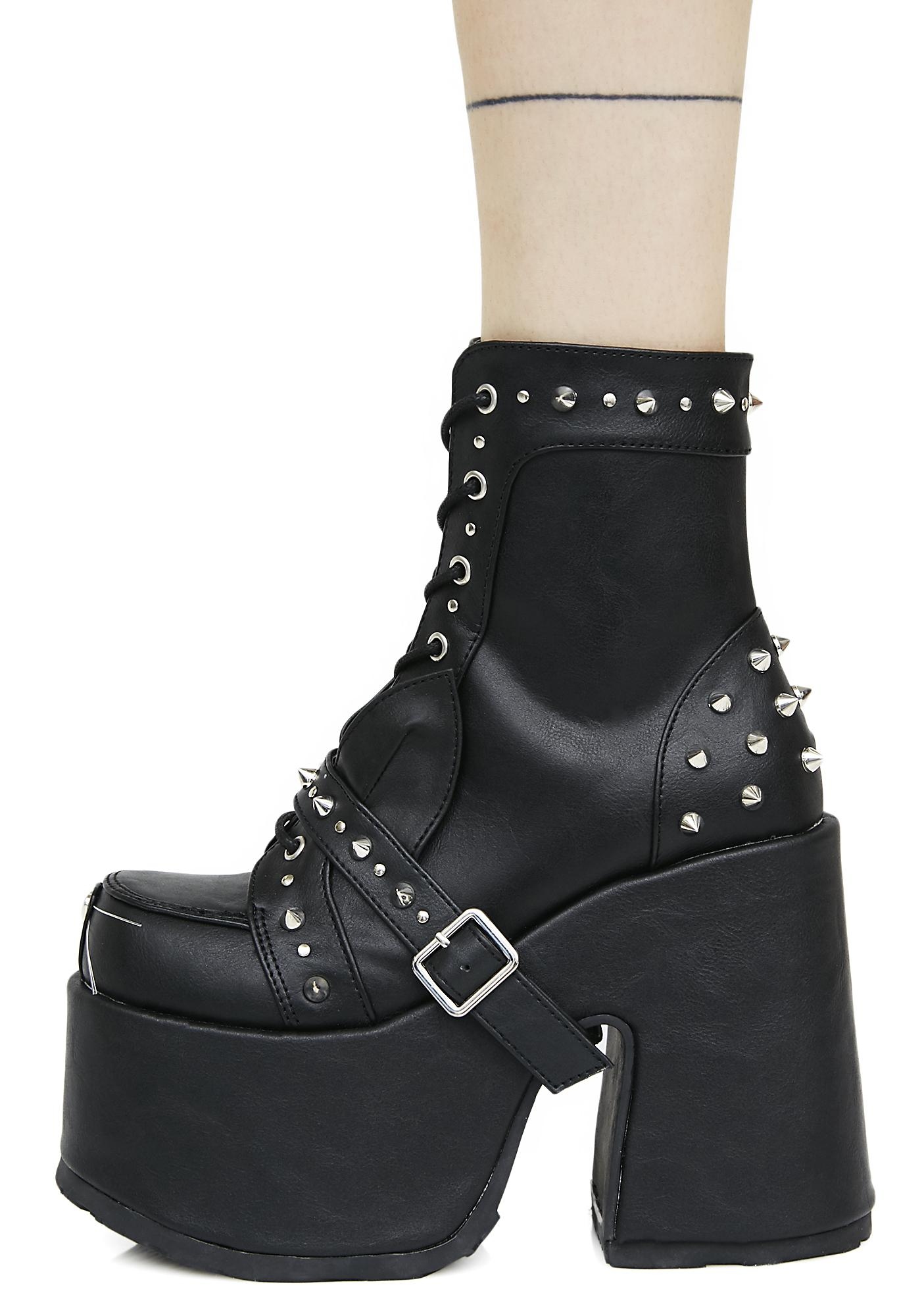 Demonia Wicked Woodland Platform Boots