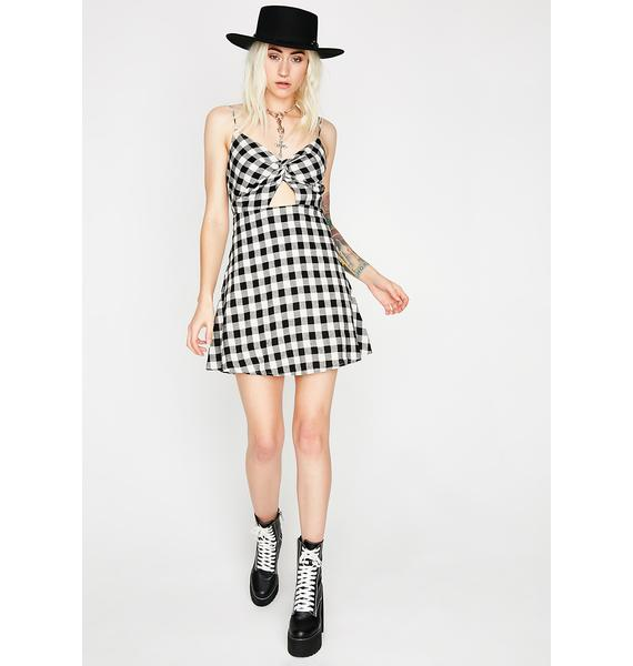 Fable Fatale Gingham Dress