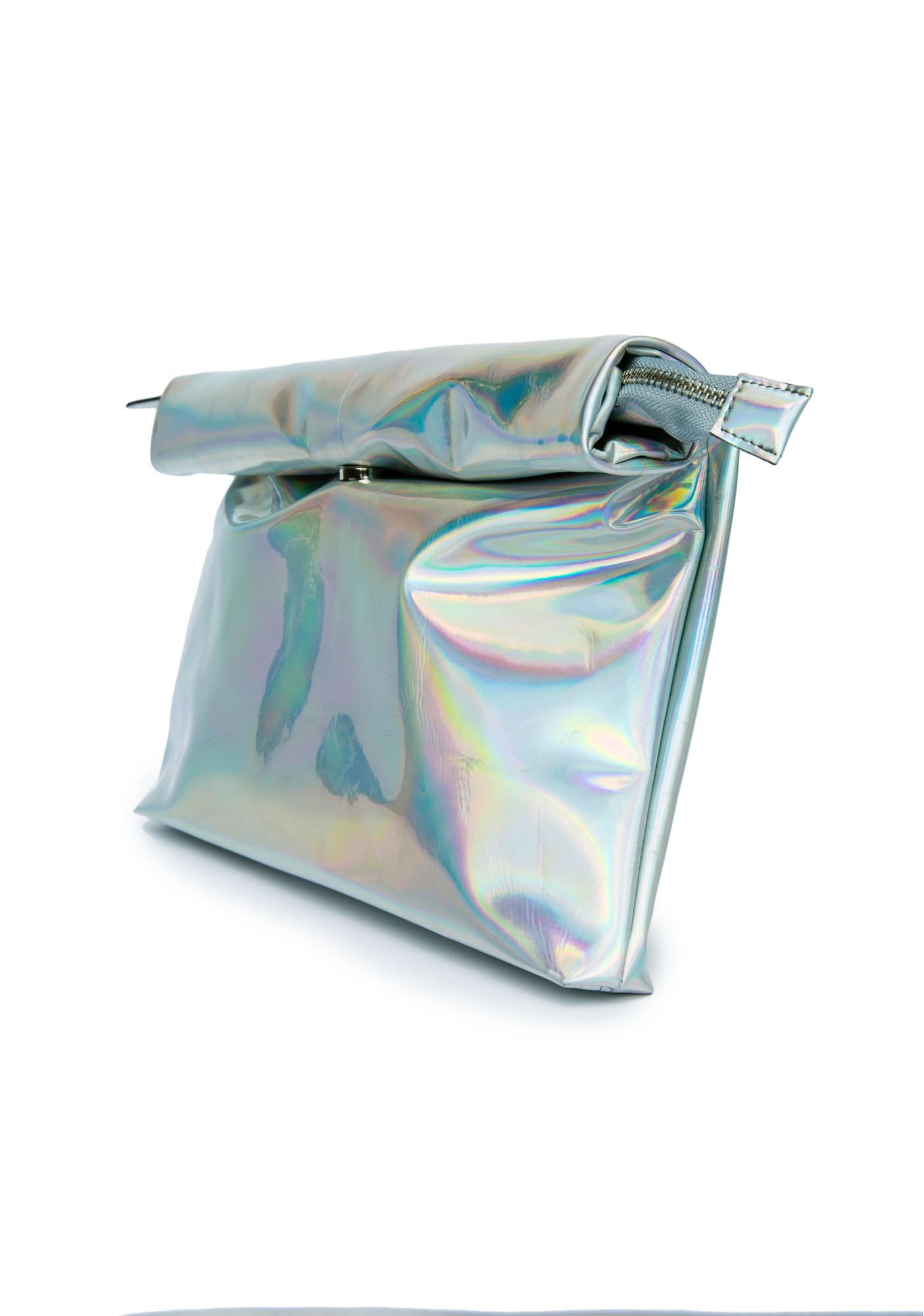 UNIF Hologram Realm Clutch