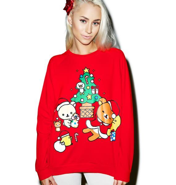 Japan L.A. Rilakumma Holiday Sweatshirt