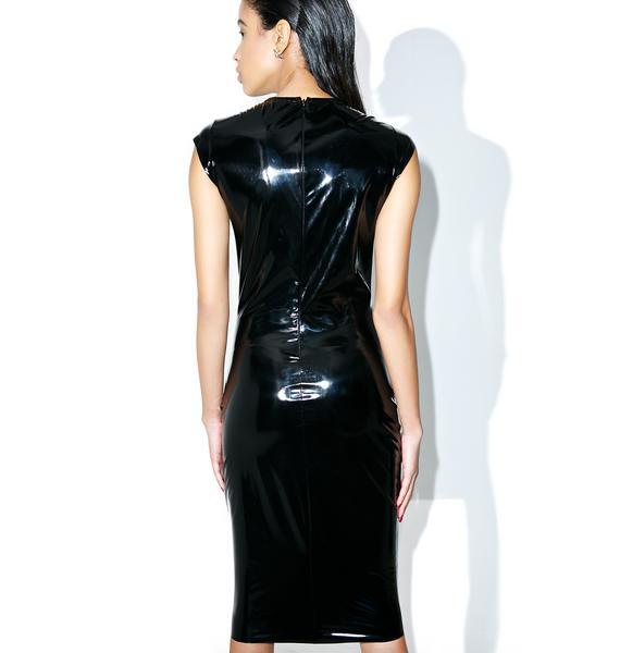 Roxbury Vinyl Dress