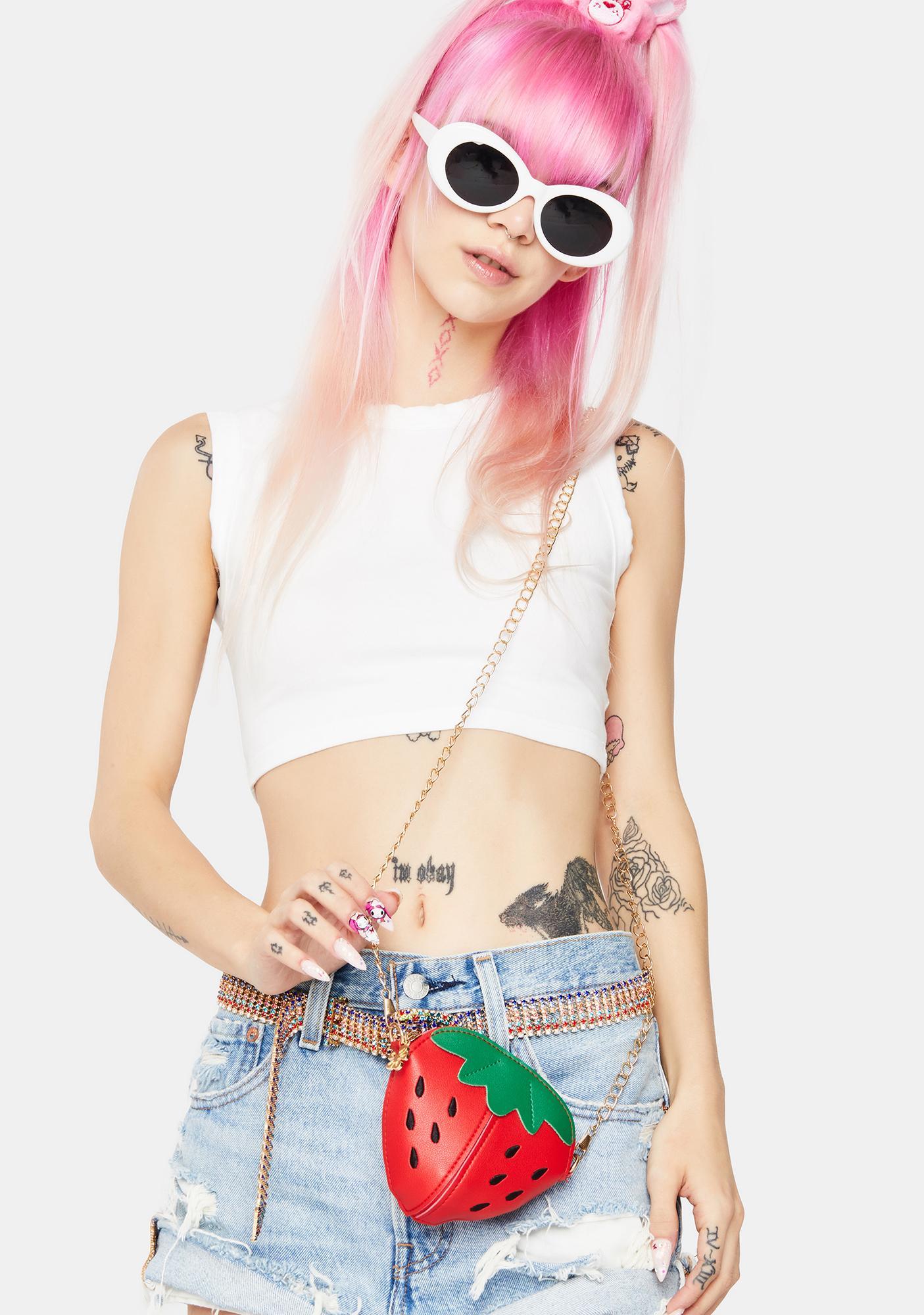 Strawberry Sweetie Crossbody Bag