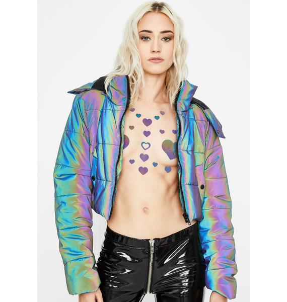 Sasswear Heart Color Changing Pasties Set