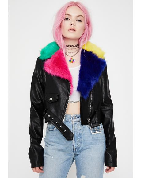 Troll Fur Moto Jacket
