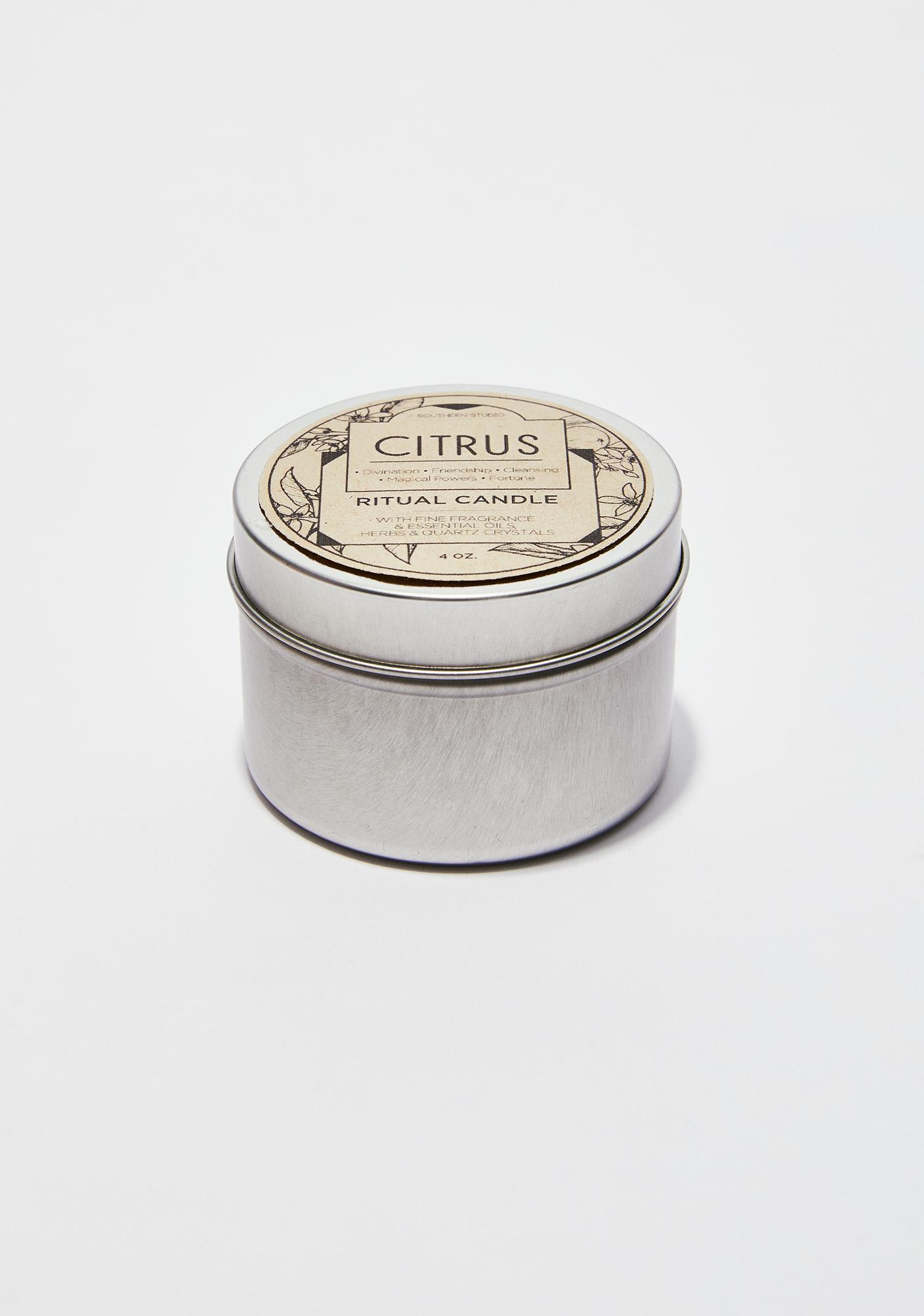 J. SOUTHERN STUDIO Citrus Ritual Candle