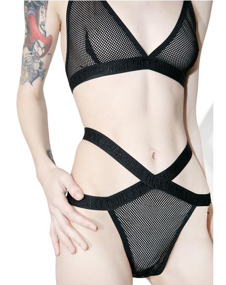 Vix-Sin Fishnet Panty