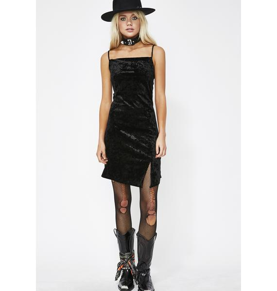 Dark Figure Me Out Velvet Dress