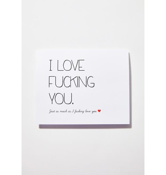 All The Love Card