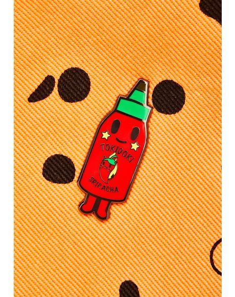 Hotty Enamel Pin