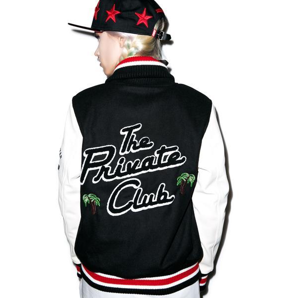 Joyrich The Private Club Oversized Varsity Jacket